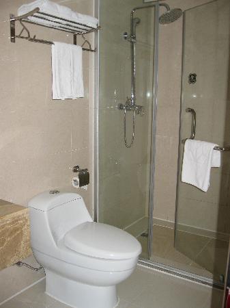 WanJia Oriental Hotel: 干净的卫生间