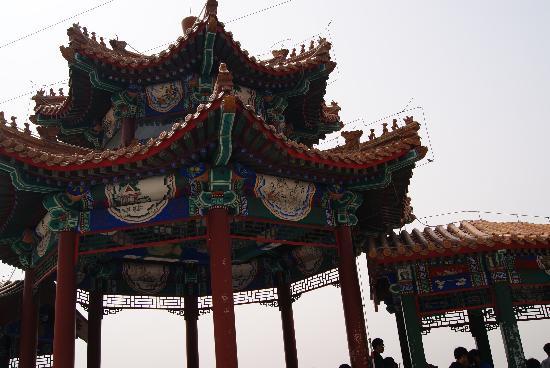 Mangshan Forest Park : 牌楼雕花