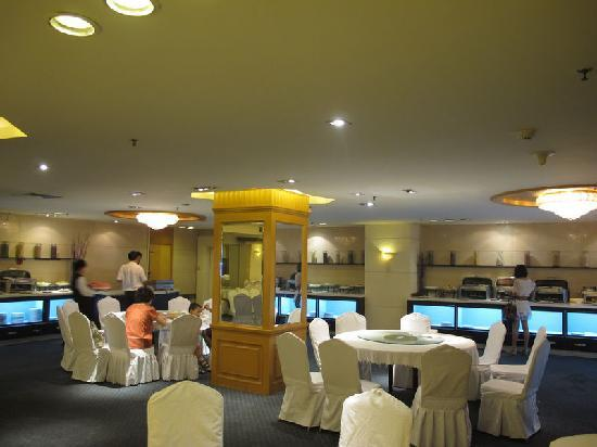 Atour Hotel Chengdu Taiguli Hepan: 自助早餐厅