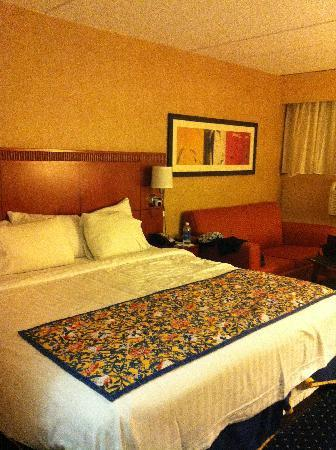 Fairfield Inn & Suites Boston North: 双人间