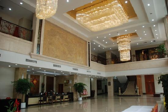 Jincheng Motel: 大厅挺大气。豪华,花园也很漂亮,