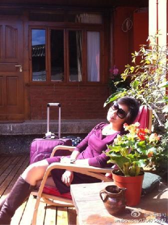 Huifeng Inn Shuhe: 暖暖的下午在院子里晒晒太阳,喝喝茶,惬意真实的生活从此刻开始!