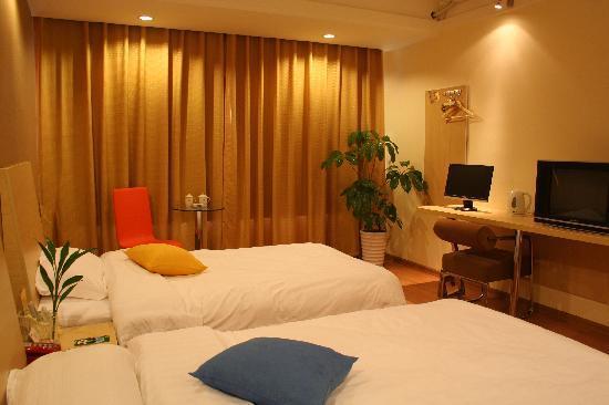 An-e Hotel Leshan Baiyang Road: 标准间