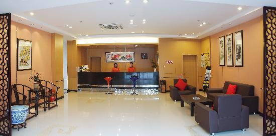 An-e 158 Hotel Chengdu Fuqin: 大厅