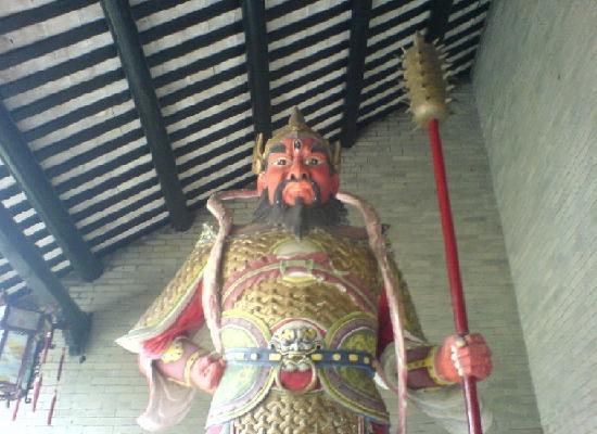 South Sea God Temple: 神像