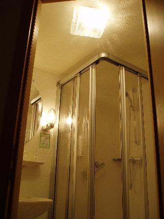 Hotel Weingut Karlsmühle: 房间里的洗手间
