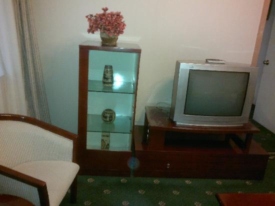 Lily Hotel: 外间电视