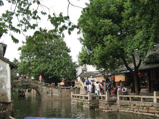 Zhouzhuang Water Town: 钥匙桥