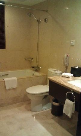 لي جاردنز هوتل شنغهاي: 卫生间