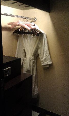 لي جاردنز هوتل شنغهاي: 更衣室