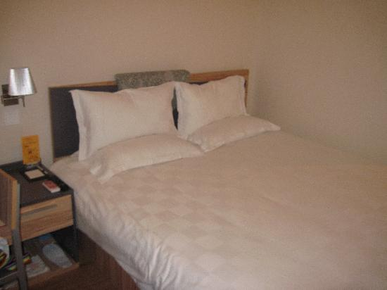 Houdao Hotel : 很舒服的大床
