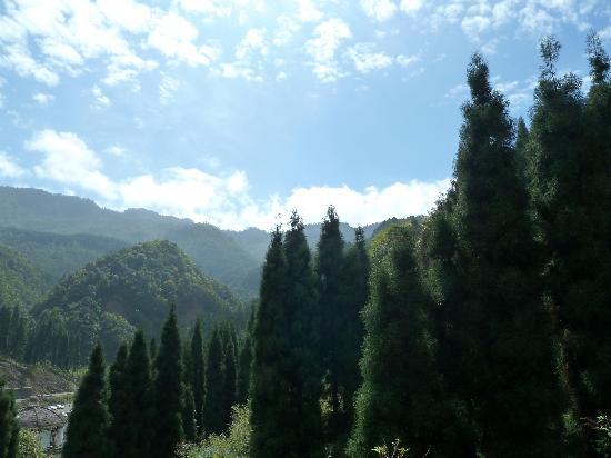 Jiguanshan Scenic Resort: 崇州鸡冠山风景