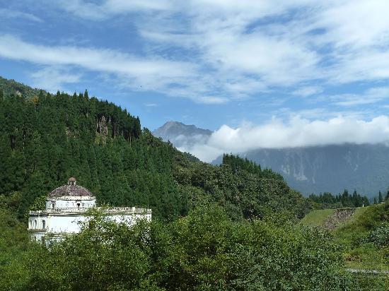 Chongzhou, China: 崇州鸡冠山风景