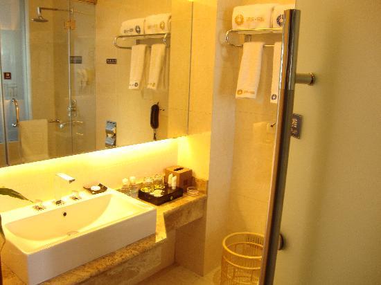Jingcheng International Business Hotel: 卫生间