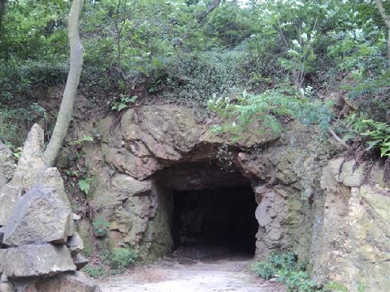 Songjiang Tianma Mountain: 山洞