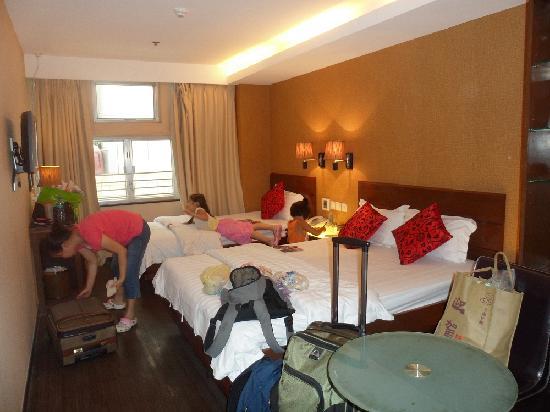 Sunny Day Hotel (Mongkok): 房内