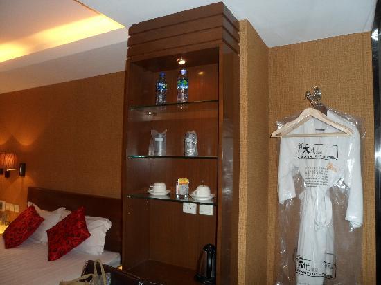 Sunny Day Hotel (Mongkok): 酒柜