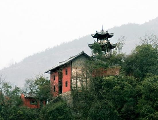 Shizhu Taoist Temple : 石柱观近照