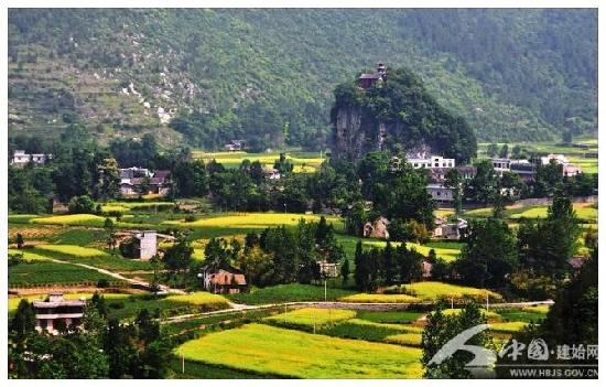 Shizhu Taoist Temple : 石柱观附近