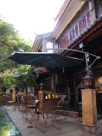 No.1 Courtyard Hotel: 酒店的院子