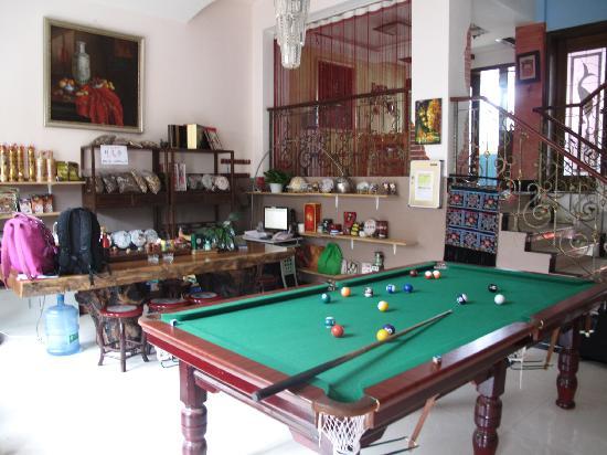 Lvye Holiday Villa Inn Kunming : 客栈前台