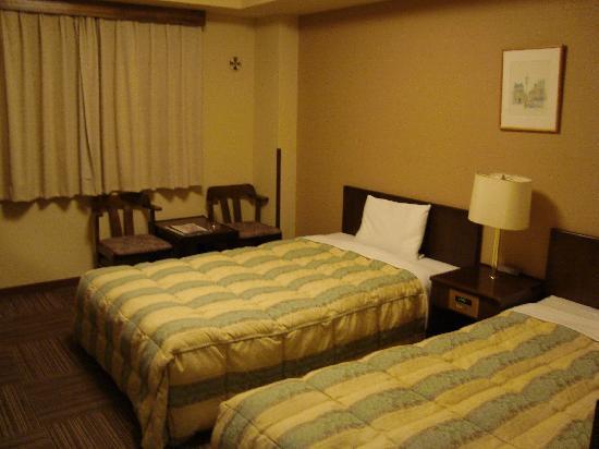 Hotel Route Inn Kawaguchiko: 河口湖房间