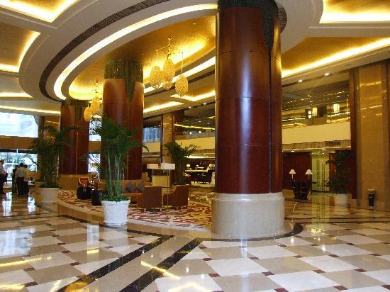 Qingtian Renhe Wangchao Hotel : 酒店大堂