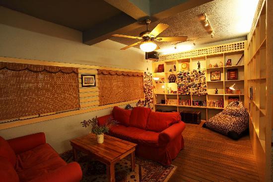 Huatiancuo Hostel: 看电影的地方