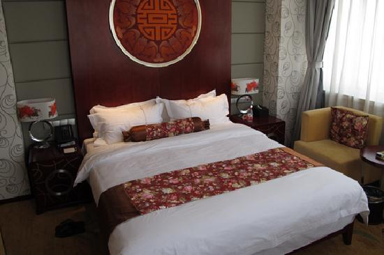 Weifang Dong Fang Hotel: 大床