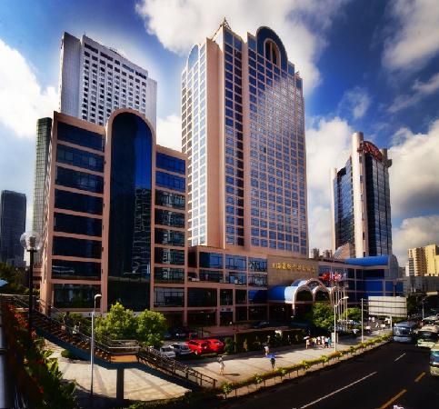 Hotel Equatorial Shanghai: Exterior