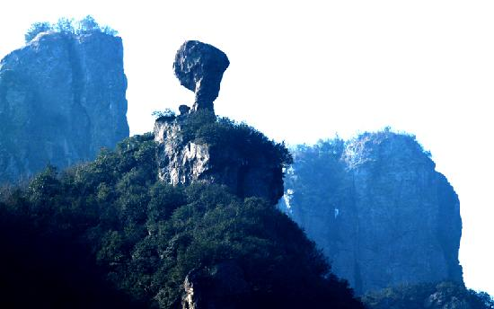 Pujiang County, China: 马岭美女峰 (1)