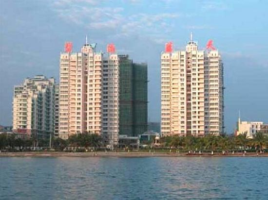 Sandaoke Holiday Apartment Sanya: 小区外景