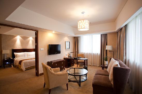 ZTE Hotel Shanghai: 湖景套房