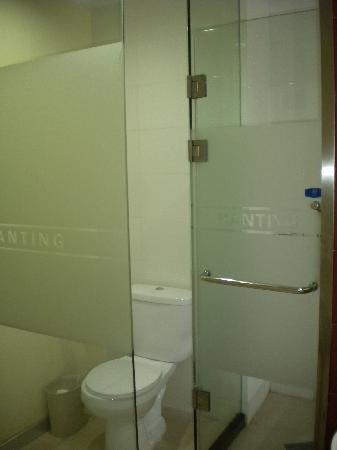 Hanting Express Changsha Renmin Middle Road: 淋浴与卫生间合用一道门
