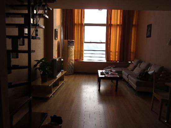 VIP Floor,Sixteen And Seventeen Floor,Dongfangjiezuo Hotel: 客厅