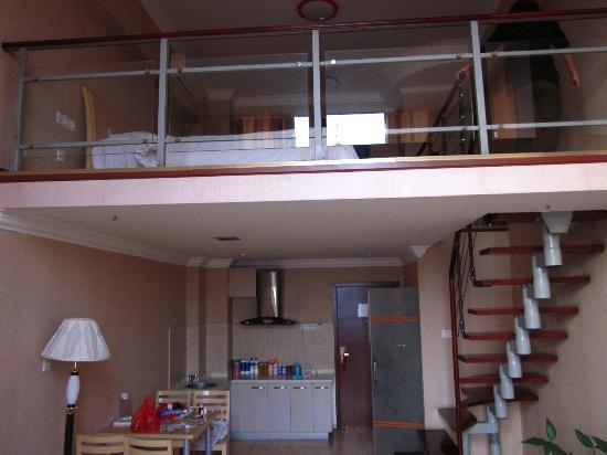 VIP Floor,Sixteen And Seventeen Floor,Dongfangjiezuo Hotel: 双层全景2