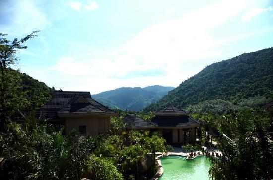 Yanoda Rainforest Yihao Resort: 酒店外观