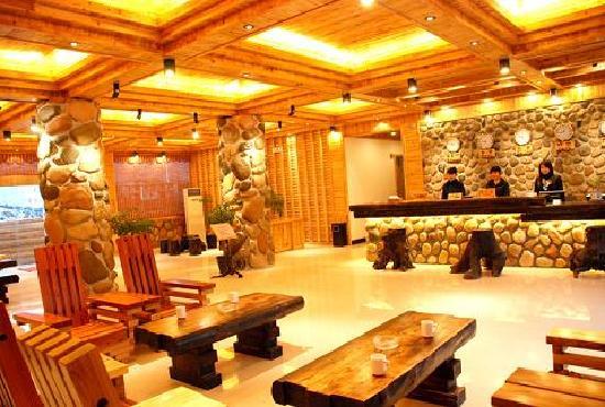 Shuifoshan Hotspring Villa: 大堂