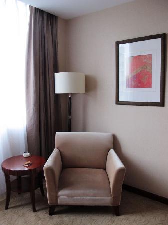 Chengdu Eastar Hotel: 沙发休息区