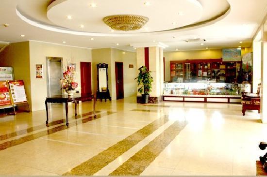 Overseas Business Hotel Hefei Sanxiaokou: 大厅