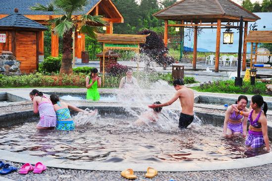 Xiangdian Hotspring Village: 湘电灰汤温泉山庄