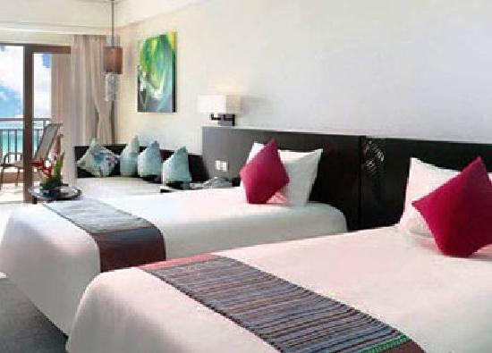 Jinhaiwan Haishang Wanpan Service Apartment Hotel: 设施新而干净的客房