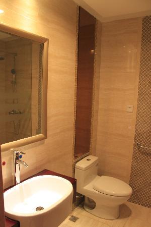 Taishan Tianwaicun Hotel: 卫生间
