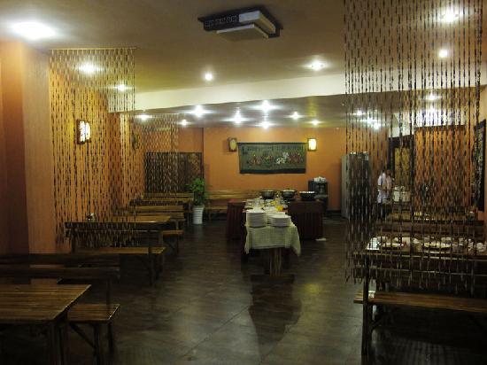 جينلي فري تايم هوتل: 一楼餐厅