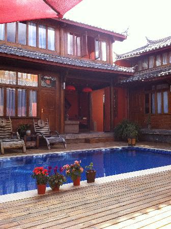 Huifeng Inn Shuhe: 手机的效果有限,实景远比照片效果美得多哦!