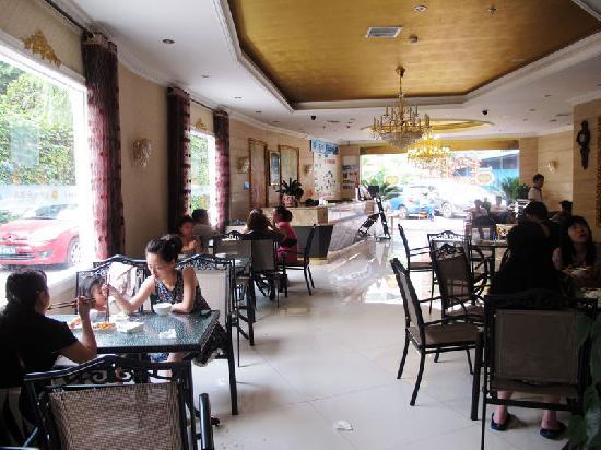 Yijia Inn Chengdu Wuhouci: 简易餐厅