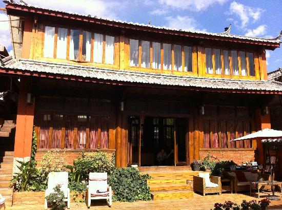 Huifeng Inn Shuhe: 前院 客栈的不到1/2景