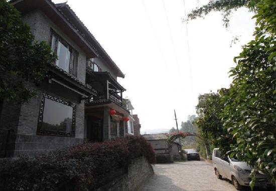 Longtan Yingyue Resort: 山庄外貌