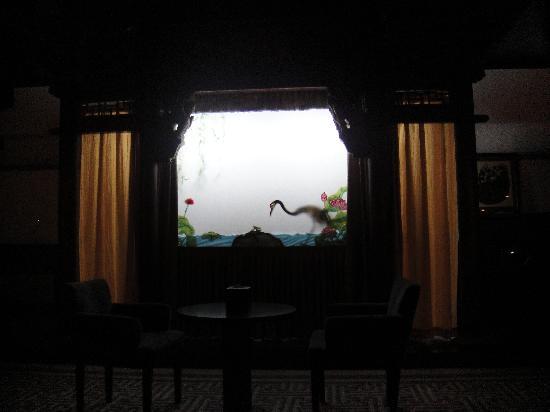 Shichahai Shadow Art Performance Hotel : 当晚演出的皮影