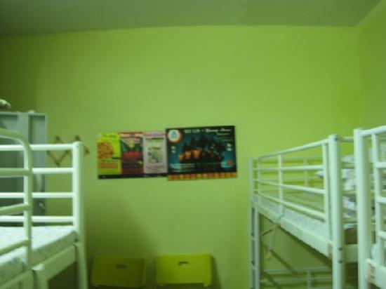Guoke International Youth Hostel: 墙壁